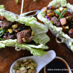 North African Beef Wraps