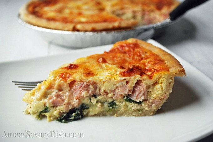 crustless quiche crustless quiche with ham asaparagus and gruyere ...
