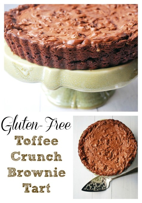 Gluten Free Toffee Crunch Tart Recipe