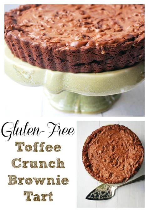 Gluten Free Toffee Crunch Tart Recipe