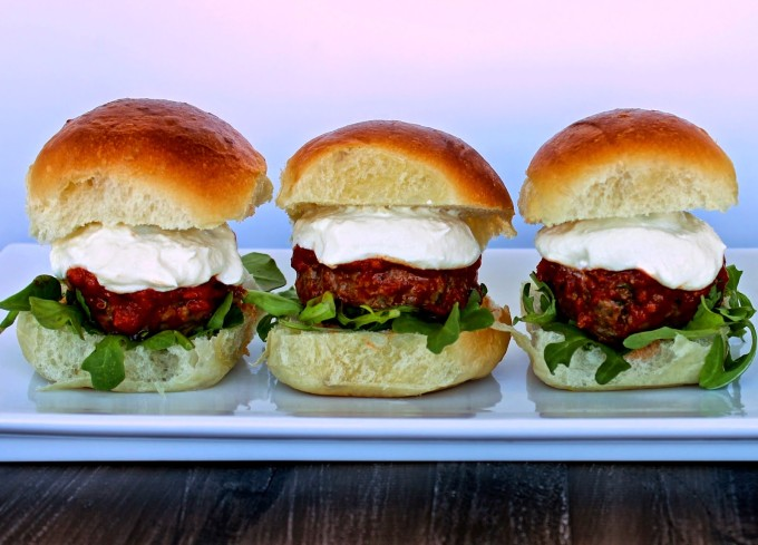 Little Italy Meatball Sliders