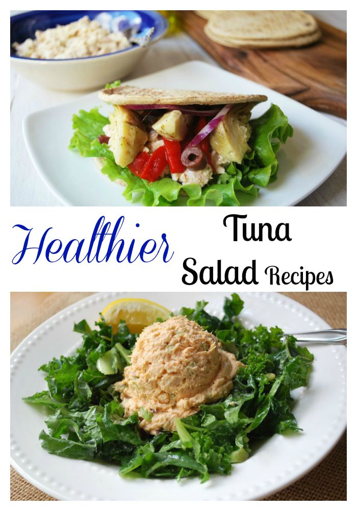Healthier Tuna Salad Recipes