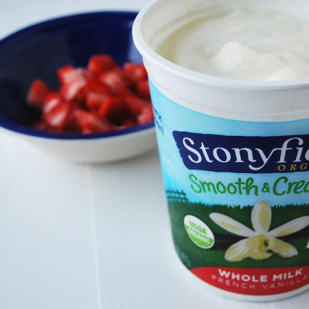 Stonyfield frozen yogurt
