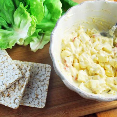 Egg salad with Greek yogurt recipe