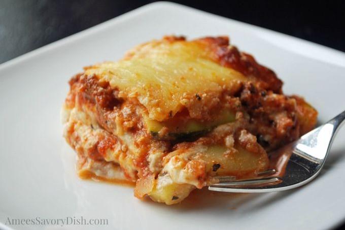 Zucchini Lasagna #TheRecipeReDux
