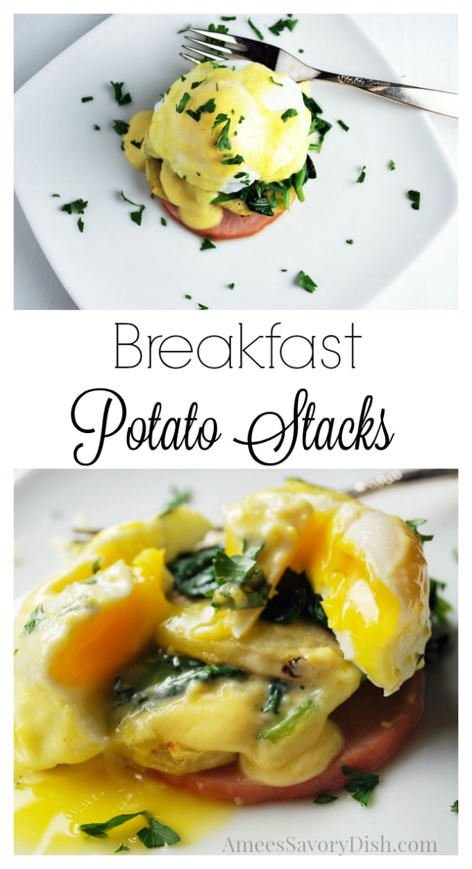 Breakfast Potato Stacks