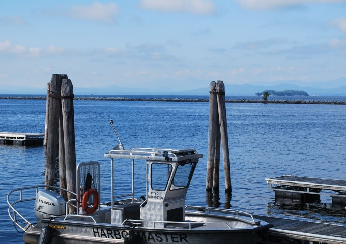 Lake Champlain boat