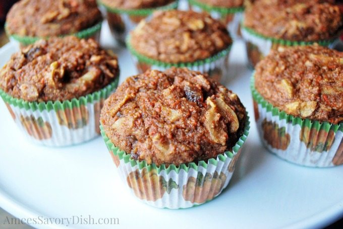 Fall Harvest Muffins plate