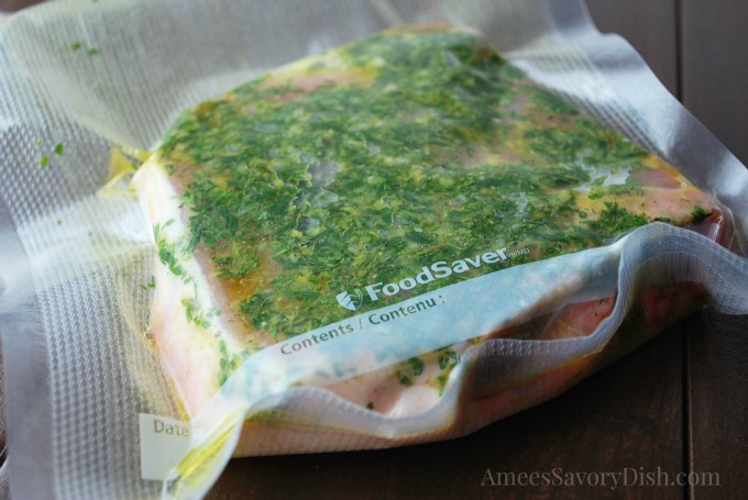 Foodsaver pork chop