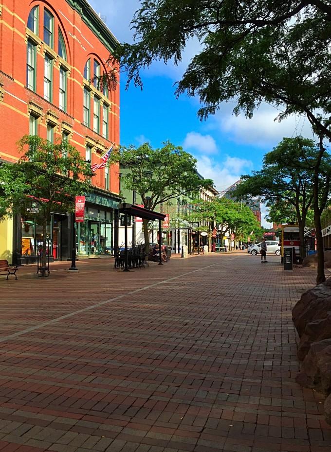 downtown Burlington VT