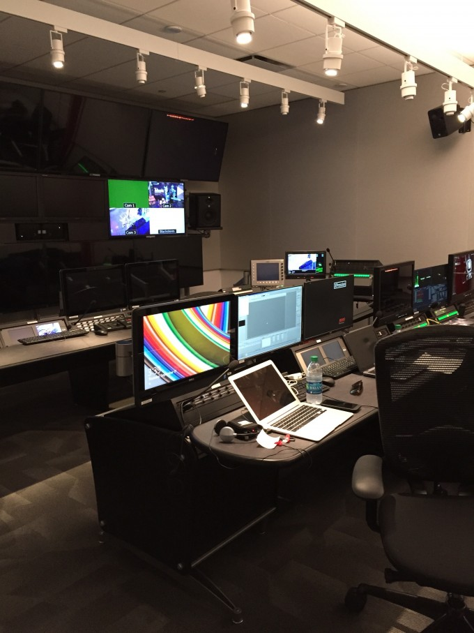 Inside the YouTube studio