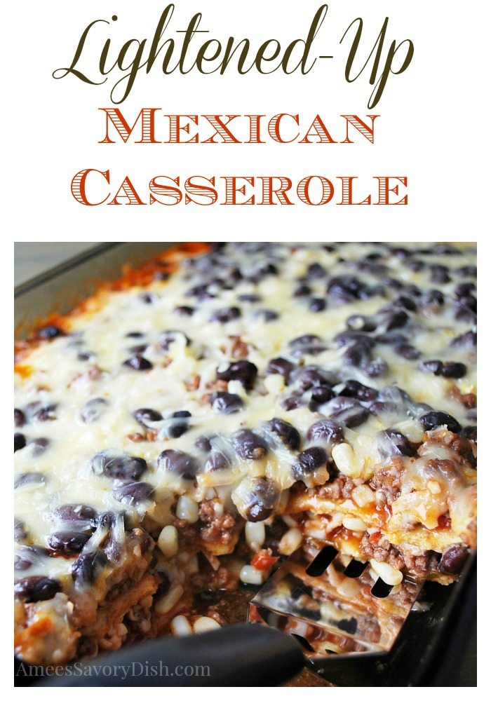 Mexican Casserole pin