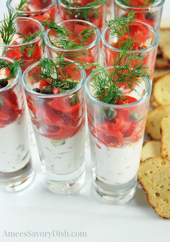 Salmon Shooters close up
