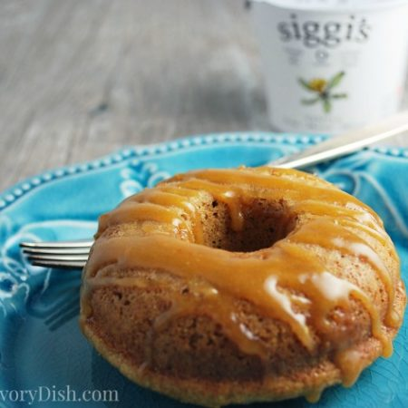 Baked Maple Donut plate
