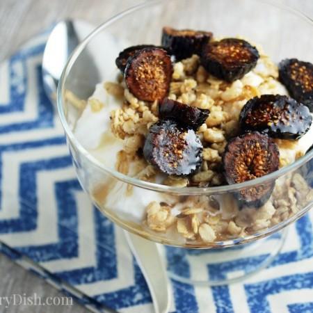 Fig & Maple yogurt parfait