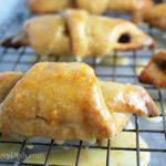 Orange Glazed Croissants