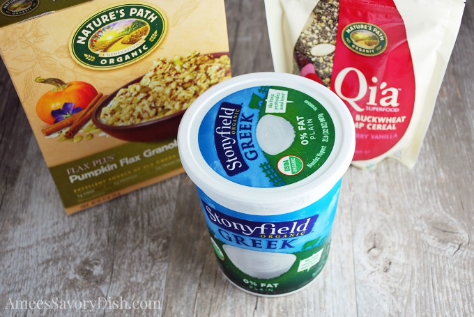 Stonyfield Yogurt Parfait