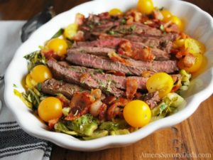 Warm Steak Salad