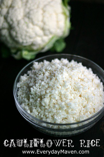 Cauliflower Rice from Everyday Maven
