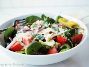 Healthier Olive Garden Salad