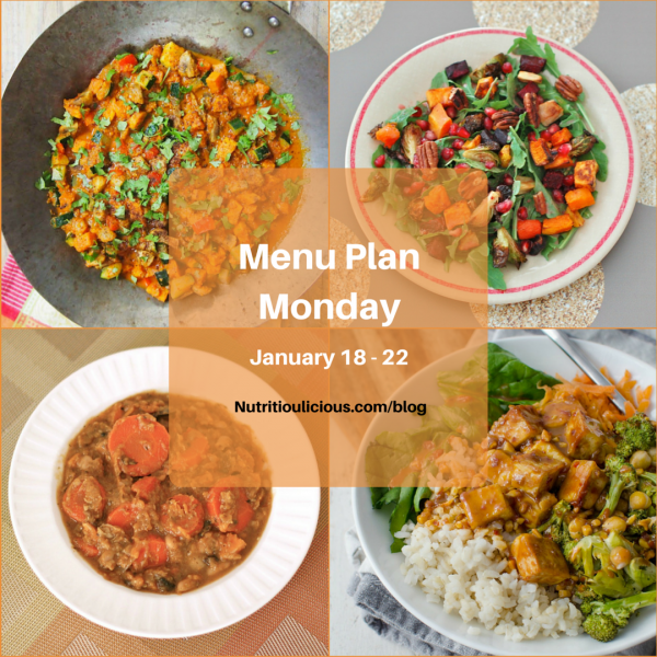 Meal plan ideas from Nutritioulicious