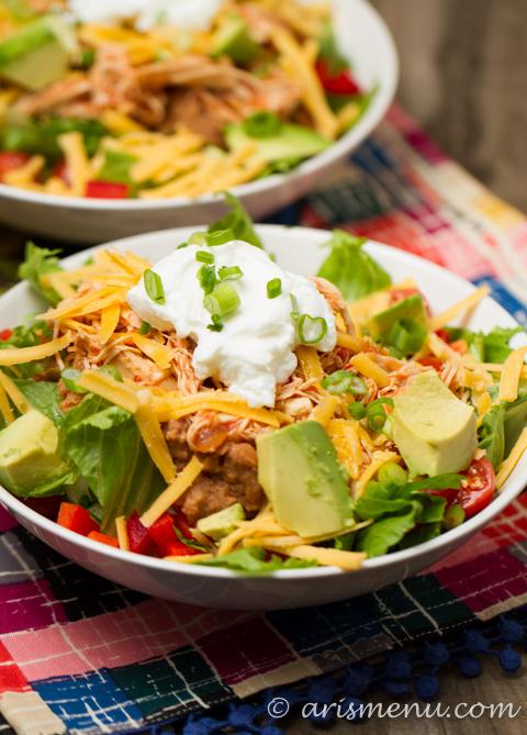 Chicken Taco Salad guest post