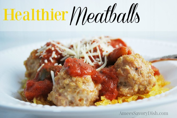 Healthier Meatballs recipe