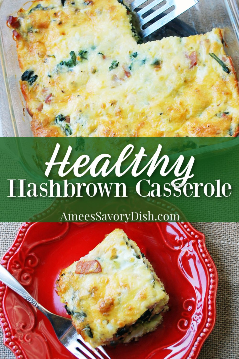 healthy hashbrown casserole pin