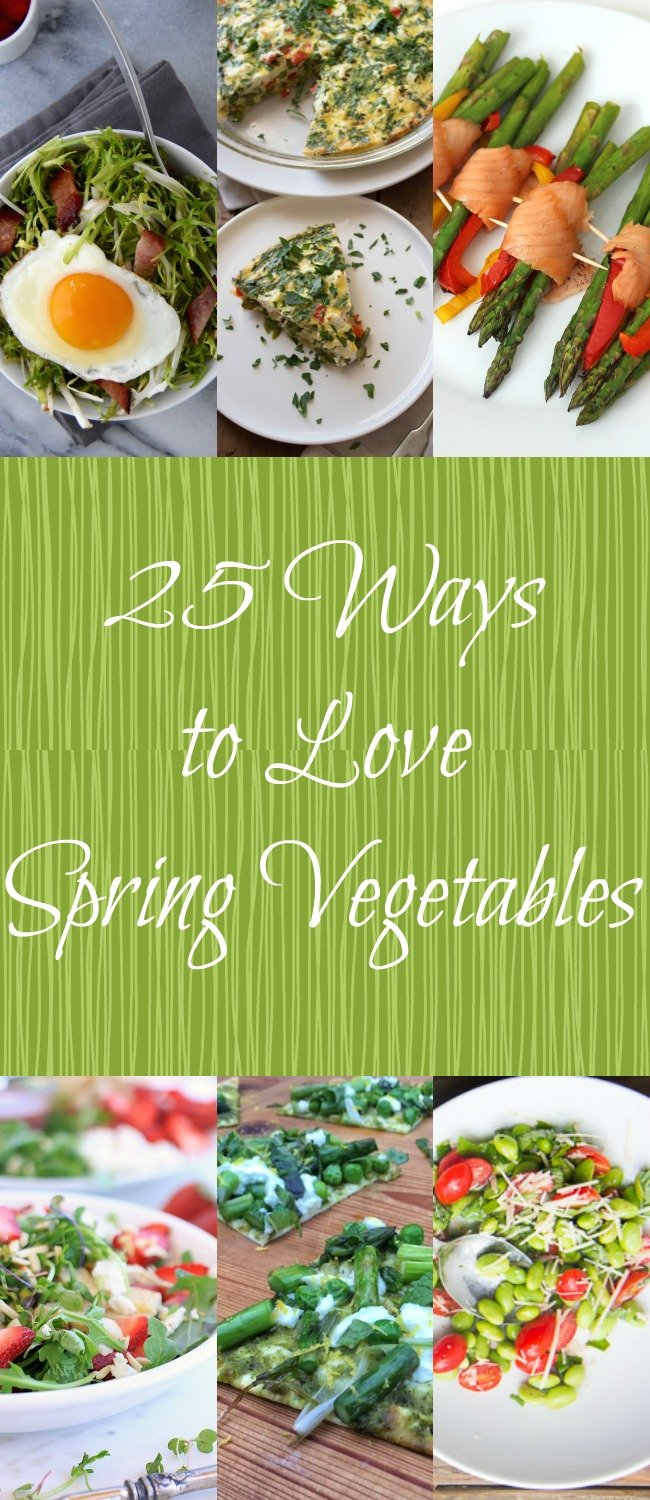 25 Ways to Love Spring Vegetables