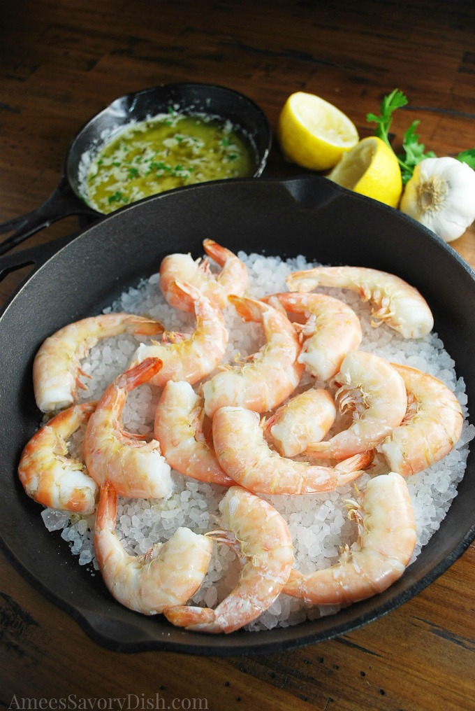 Salt Roasted Shrimp
