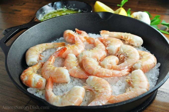 Rock Salt Roasted Shrimp