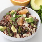 grapefruit quinoa salad - 1