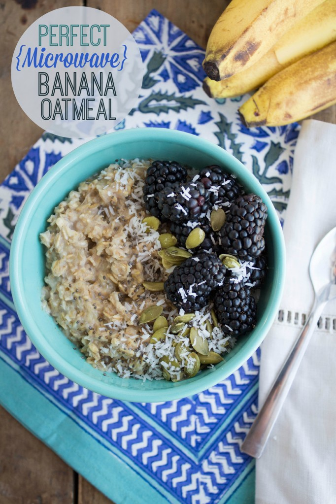 perfect banana oatmeal