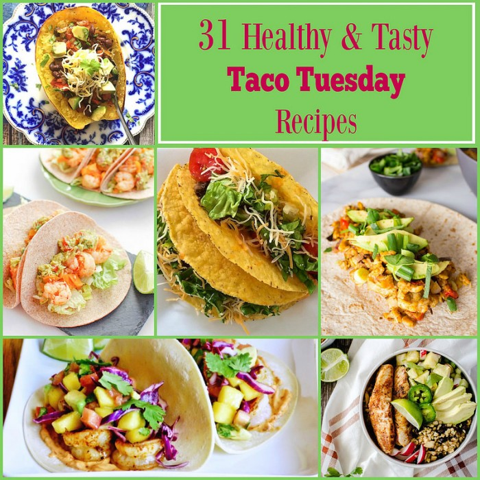 Happy Taco Tuesday everyone! We're super exciting to share this dietitian-approved roundup of 31 healthy and tasty taco Tuesday recipes here at Amee's Savory Dish.