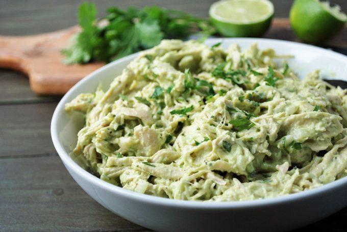 Avocado Chicken Salad recipe-Amee's Savory Dish