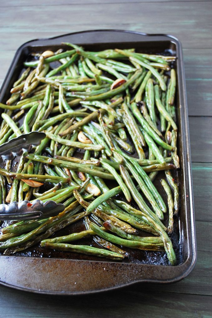 Slow-Roasted Green Beans- Amee's Savory Dish