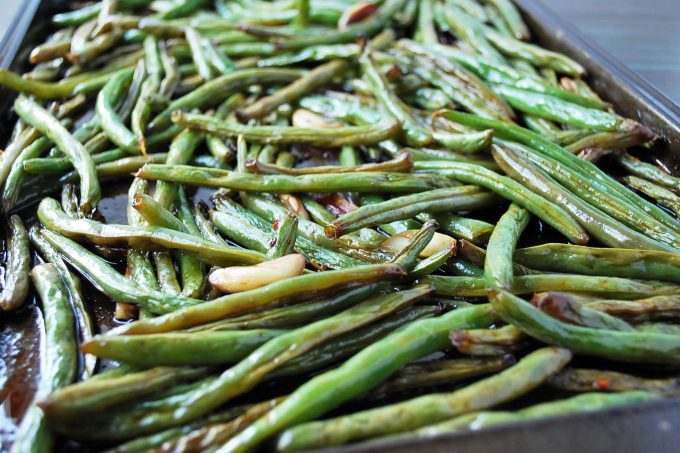 Slow-Roasted Green Beans