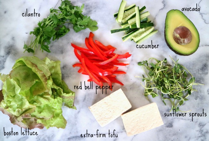 tofu spring roll ingredients