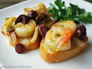 Spanish Garlic Shrimp recipe