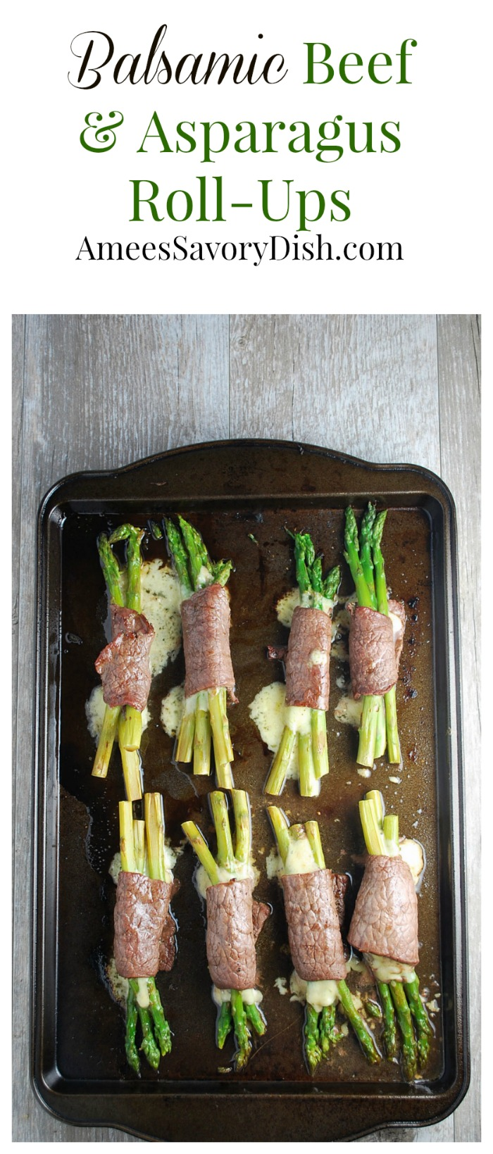 balsamic beef asparagus roll ups