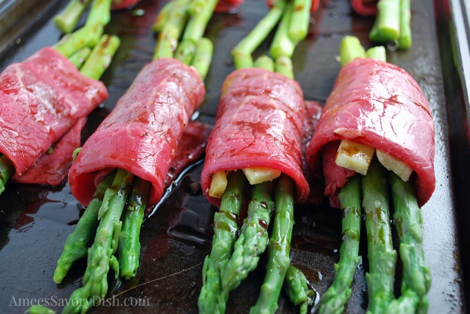 beef asparagus roll up recipe