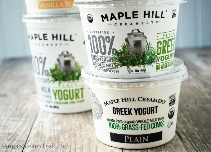 Maple Hill Creamery products