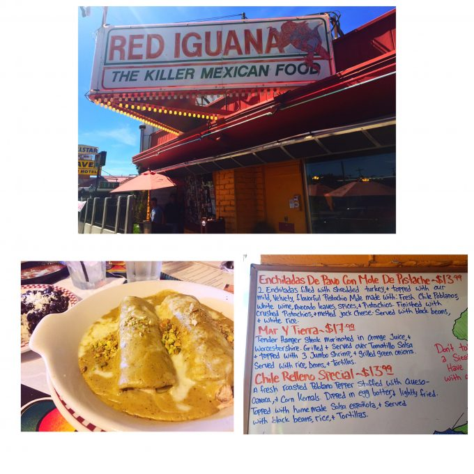The Red Iguana