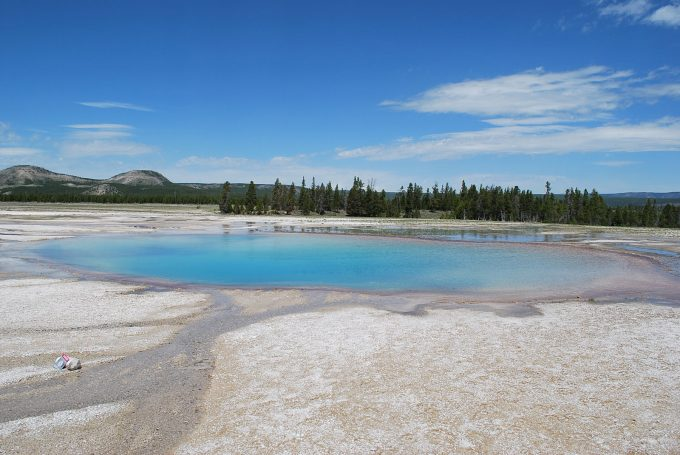 Pool near Grand Prismatic Spring