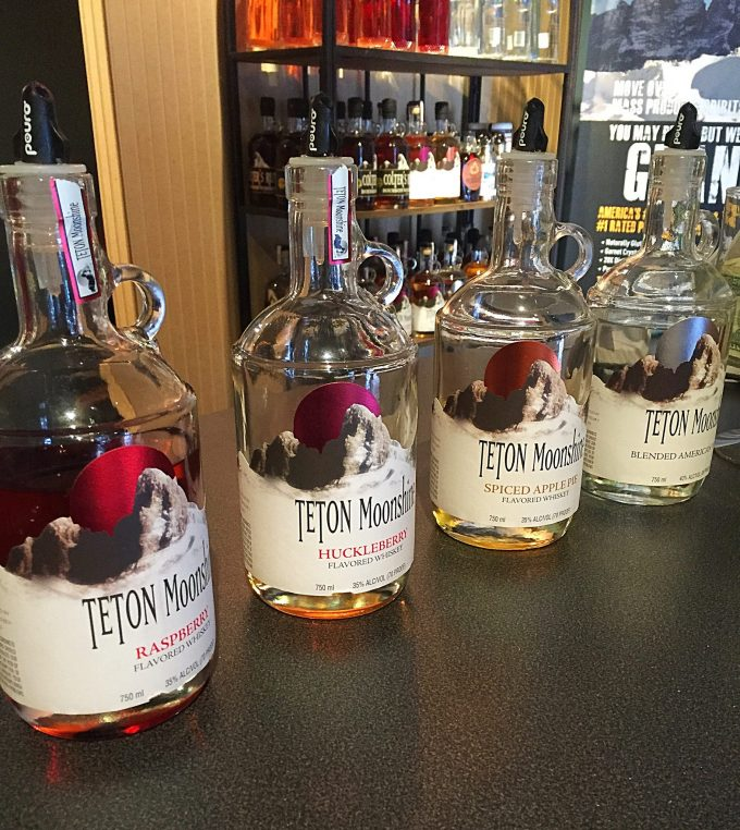 Teton moonshine