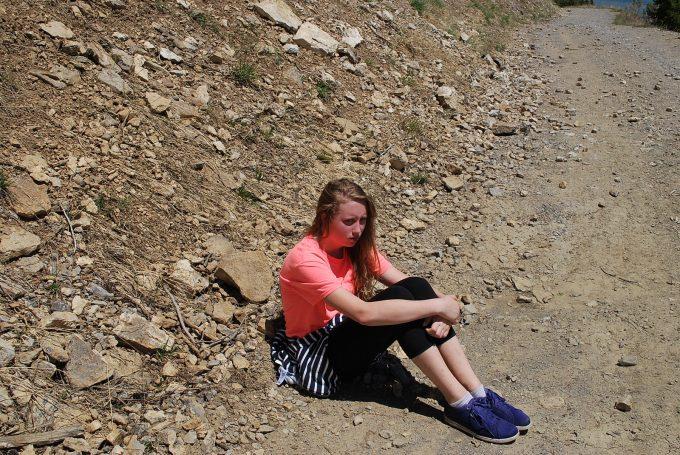 Lauren on Mt. Rendevoux
