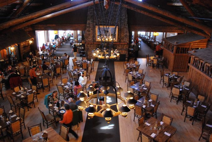 Old Faithful Inn dining