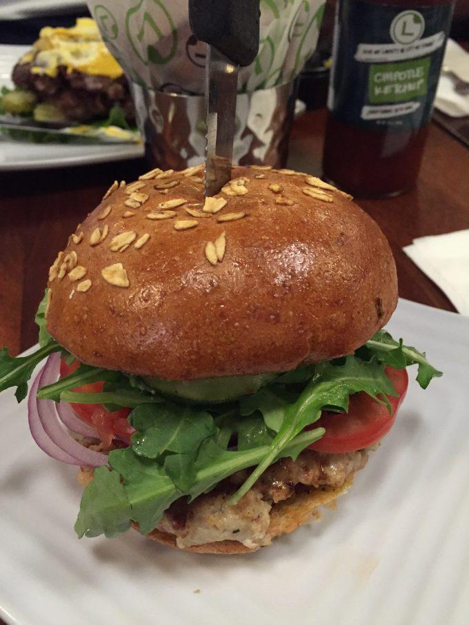 Burger at Liberty Burger