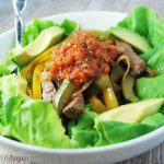 Beef Fajita Salad Bowl watermark