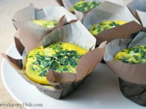 Easy Spinach Frittatas recipe